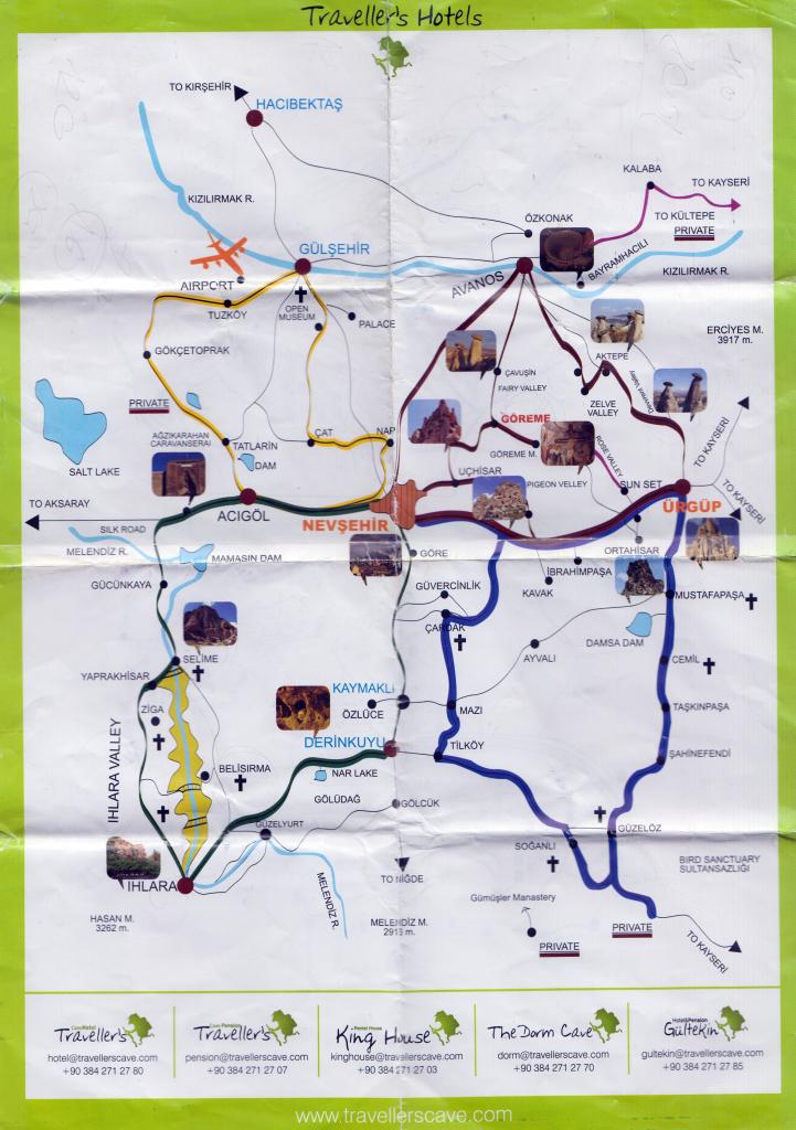 Туристический буклет  Каппадокии