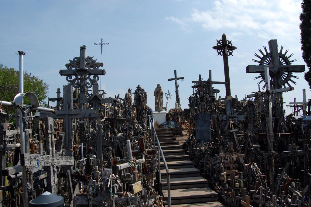 Шауляй. Гора крестов