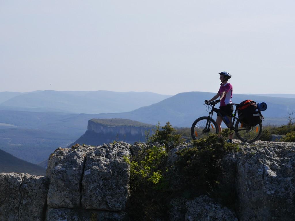 Велосипед и горы